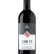 Vin rosu sec CAB 13 Via Sandu 14%, - 750 ml