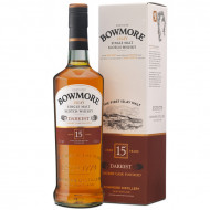 Whisky Bowmore Darkest 15 ani 700 ml