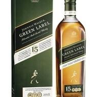 Whisky Johnnie Walker Green Label 15 Ani 700 ml