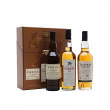 The Classic Malts Whisky Collection Coastal, 3 x 200 ml