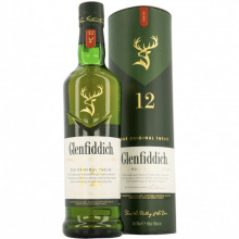 Whisky Glenfiddich 12 y, 40 %, 700 ml