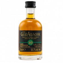 GlenAllachie 10 yo Cask Strenght Batch 3, Whisky 58.2%, 50 ml