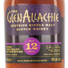 Glenallachie 12 yo bottle front