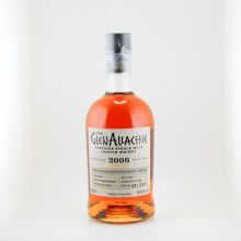 GlenAllachie 2008  11 years Single Cask Front