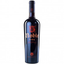 Vin Budureasca Noble Five, Rosu Sec, 0.75L