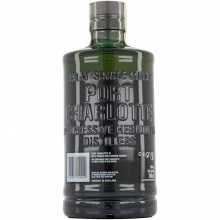 Bruichladdich Port Charlotte 10 yo bottle label back