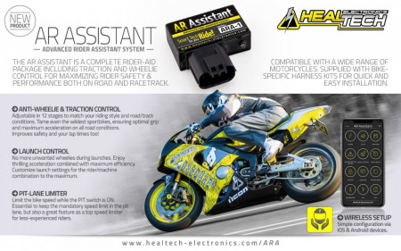 AR Assistant - Traction Control , Pit Limiter, Anti-Wheelie, Launch Control