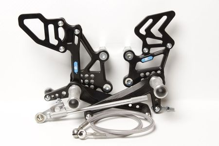 PP Tuning - Scarite racing pentru Kawasaki ZX-300/ZX-300*ABS (2013-2017)