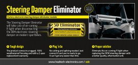 Poze SD Eliminator -- Factory electronic steering damper eliminator module