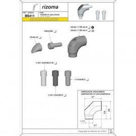 RIZOMA BS411B - Mirror adapter