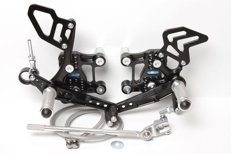 PP Tuning - Scarite racing pentru Aprilia RSV4 (2009-2012)