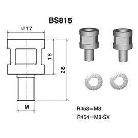 RIZOMA BS813B - Mirror adapter