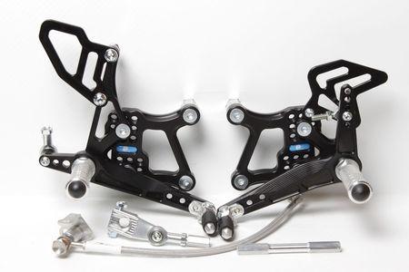 PP Tuning - Scarite racing pentru Kawasaki ZX-10R (2016-2017) cu schimbator inversat