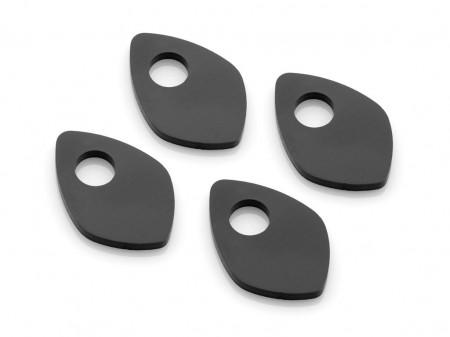 RIZOMA FR232B - Marker light adaptor (4 pcs) Black