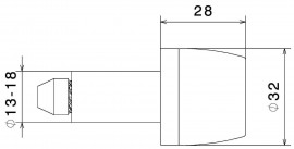 RIZOMA MA532B Bar End (Pair) - Black