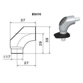 RIZOMA BS416B - Mirror adapter