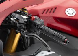 "RIZOMA LCJ801B - Clutch lever with adjustment ""3D"" Black"