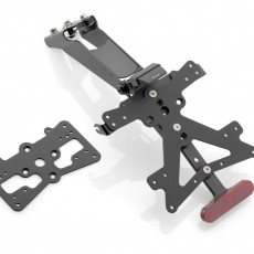 RIZOMA PT324B - License plate holder kit FOX