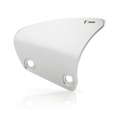 RIZOMA ZTH028A Heel Guards - Silver