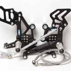 PP Tuning - Scarite racing pentru Kawasaki ZX-300/ZX-300*ABS (2013-2017) cu schimbator inversat