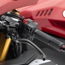 "RIZOMA LCJ302B - Clutch lever with adjustment ""3D"" Black"