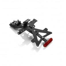 RIZOMA PT325B - License plate holder kit FOX