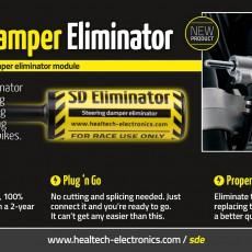 SD Eliminator -- Factory electronic steering damper eliminator module, anulare eroare amortizor ghidon