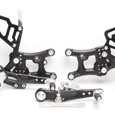 PP Tuning - Scarite racing pentru Yamaha R6 (2017-) cu schimbator inversat. Versiune FULL Race!