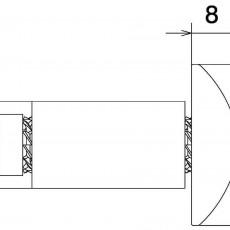 RIZOMA MA531B Bar End (Pair) - Black