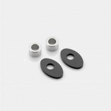 RIZOMA FR230B - Indicator light adaptor (Front)