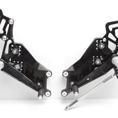 PP Tuning - Scarite racing pentru Yamaha R3 (2015-2019) R25/MT03/MT25. Versiune FULL Race!