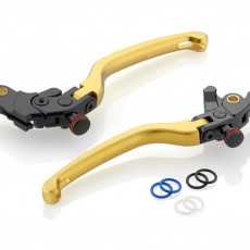 "RIZOMA LBJ301G - Brake Lever ""3D"" Gold"