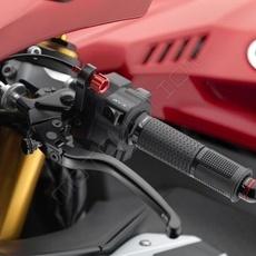 "RIZOMA LCJ701B - Clutch lever with adjustment ""3D"" Black"