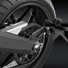 "RIZOMA PT527B License plate support ""OUTSIDE"" - Black"