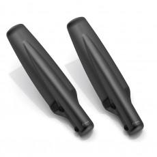 RIZOMA ZDM134B Fork tube guard - Black