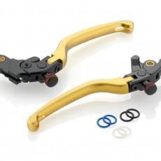 "RIZOMA LBJ302G - Brake Lever ""3D"" Gold"