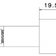 RIZOMA MA534G Bar End (Pair) - Gold