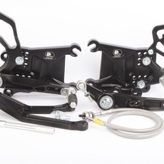 PP Tuning - Scarite racing pentru Yamaha R1 (2020-) EWC cu schimbator inversat
