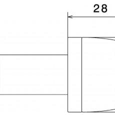 RIZOMA MA532G Bar End (Pair) - Gold