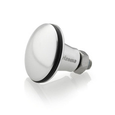 RIZOMA ZTH034A Choke Knob - Silver