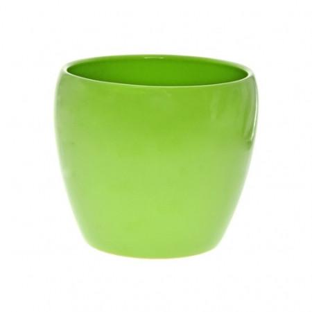 Ghiveci ceramica 18 cm verde deschis