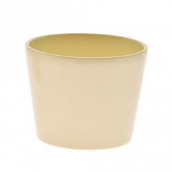 Ghiveci Calypso ceramica 11 cm crem