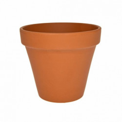Ghiveci lut ceramica teracota 8 cm