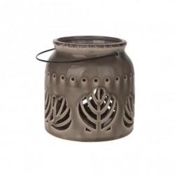 Lampa ceramica 16x16x17.7 CM gri