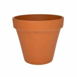 Ghiveci lut ceramica teracota 4 cm