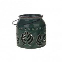 Lampa ceramica 16x16x17,7 verde