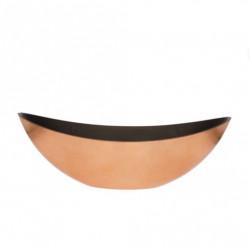 Bol oval 39x12x13cm bronze