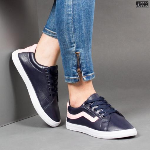 Pantofi Sport ''ALD Fashion HQ-116 Navy'' [D17C11]