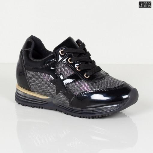 Pantofi Sport Copii ''MRS M99-16 Black Grey'' [S19E6]