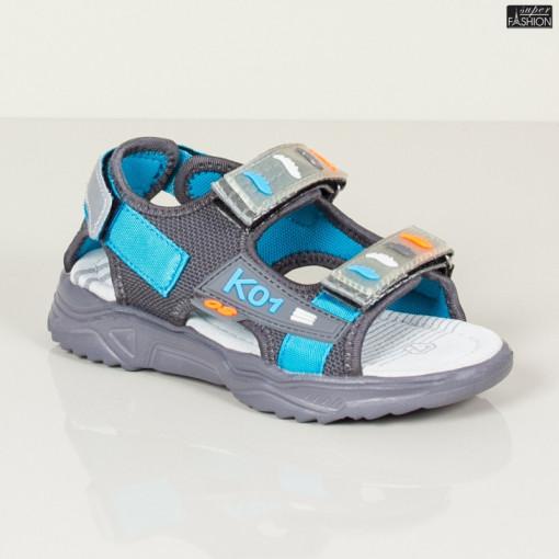 Sandale Copii ''DION Q15 D. Grey'' [S8C4]